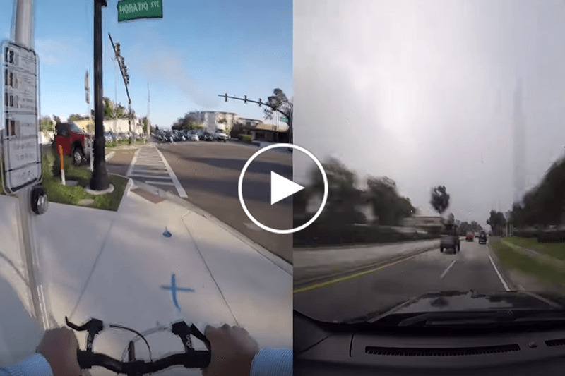 Sunrail versus Car commute video