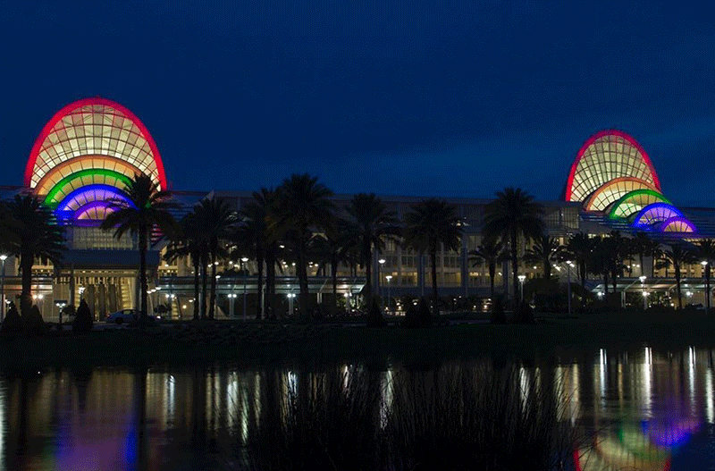 Instagram Post - Convention Center Lighting for Pulse