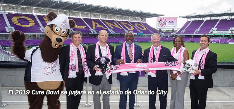 El 2019 Cure Bowl se jugará en el estadio de Orlando City