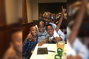 Facebook Post - Mayor Demings and his grandchildren