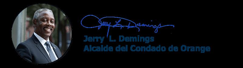 Jerry L. Demings, Alcalde del Condado de Orange