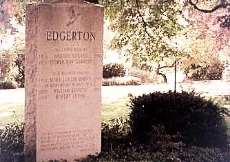 Edgerton Monument