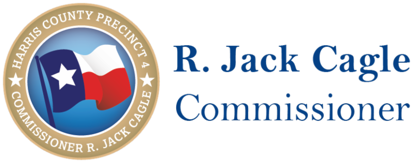 Harris Co. Precinct 4 logo - R. Jack Cagle, Commissioner