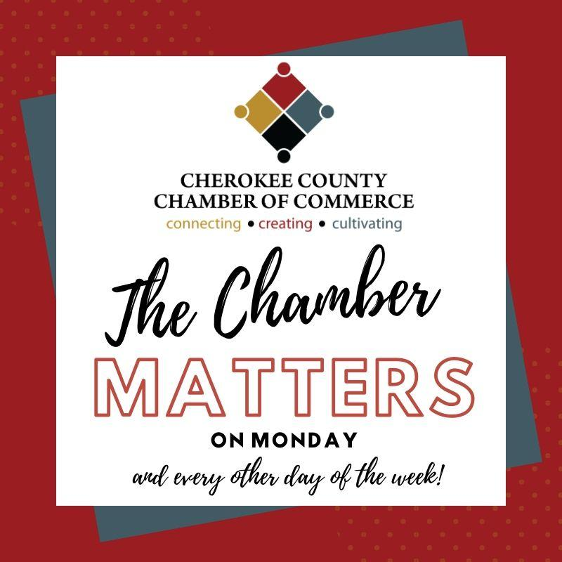 The Chamber Matters on Monday