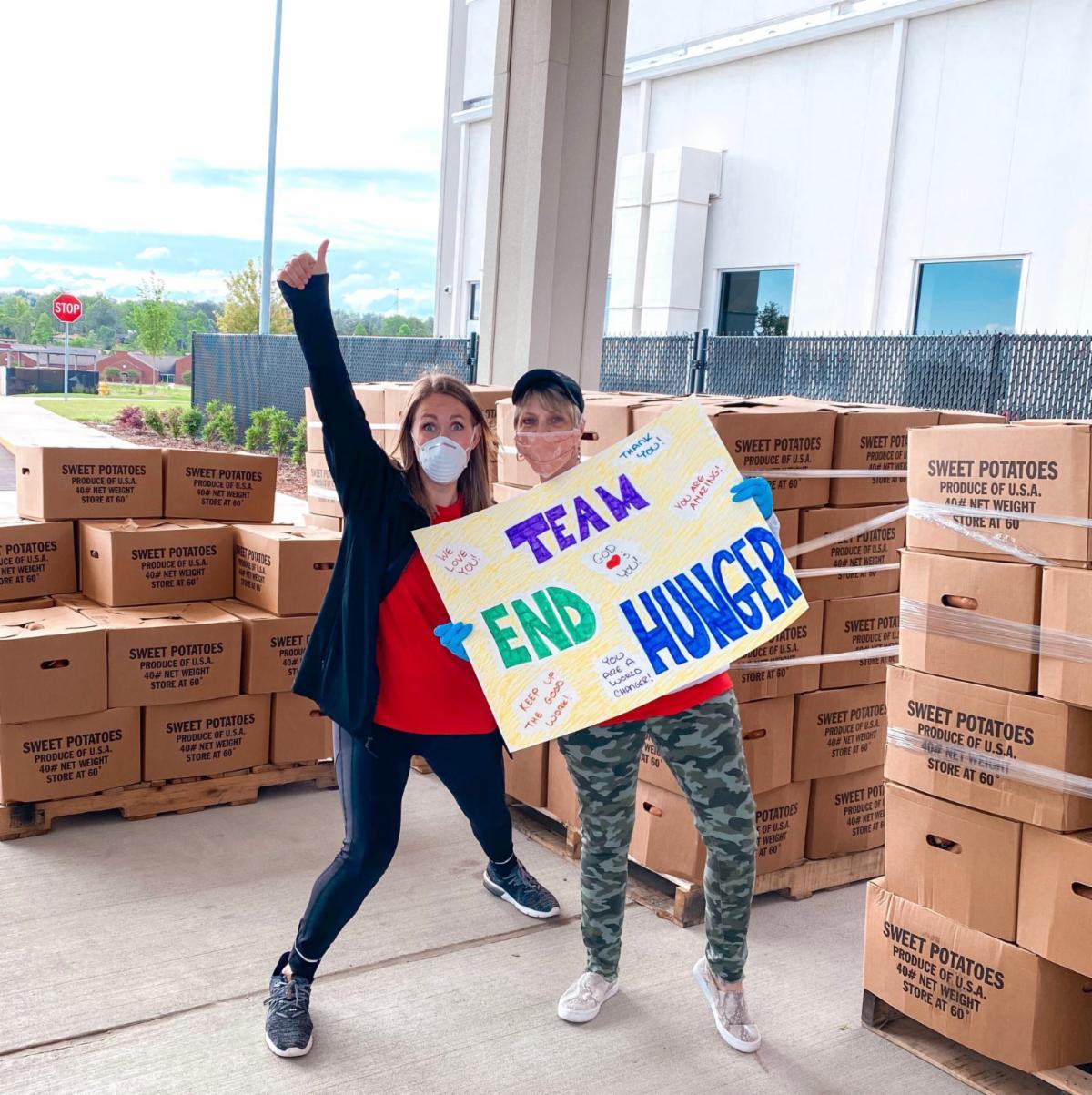 enthusiastic volunteers in Alabama