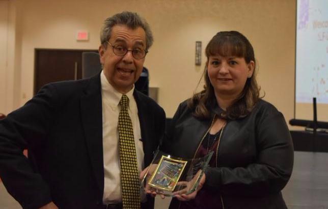 Photo of Chris Grabenstein and Valerie Bassett
