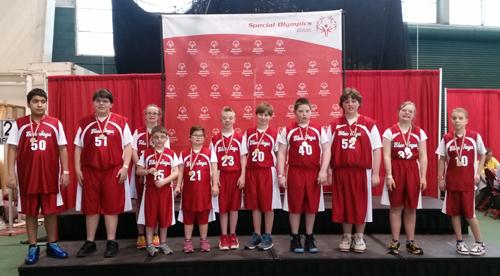 Special Olympics Team