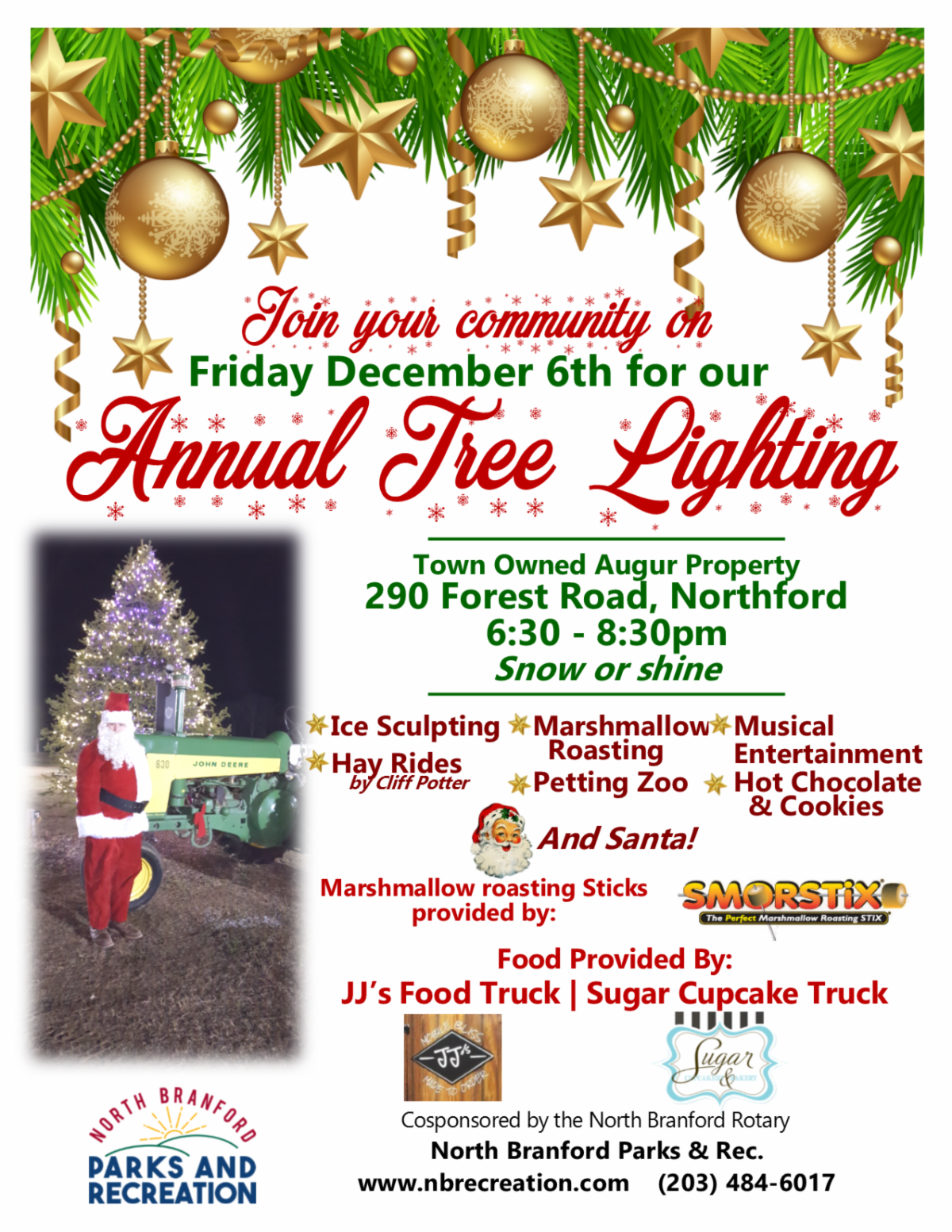 North Branford Tree Lighting