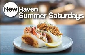 New Haven Summer Saturdays Logo