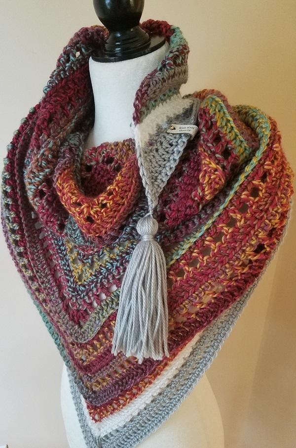 Woven Shawl by Knit Knit Hooray