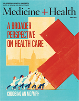 Cover of Medicine and Health magazine