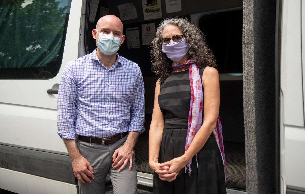 Doctors with masks
