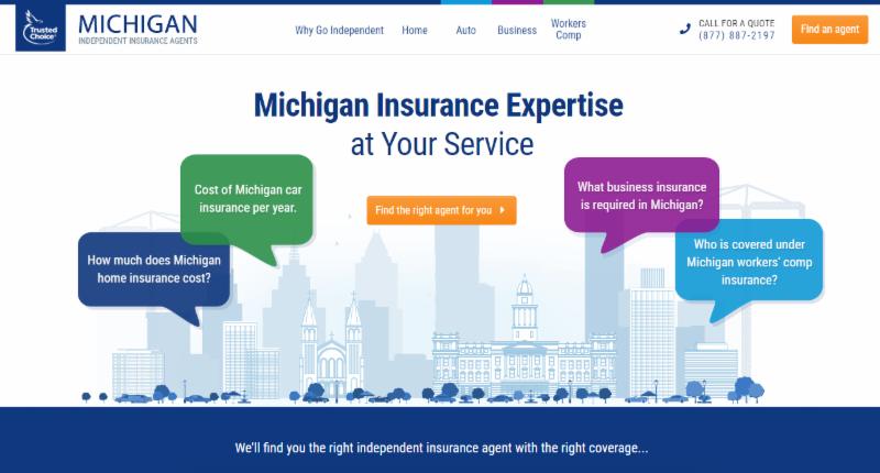 Michigan Specific Consumer Site through Trusted Choice