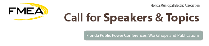 FMEA Call for Speakers and Topics
