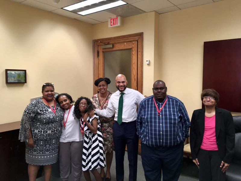 October is National Disability Employment Awareness Month. Thank you Audrey, Susan, Antonio, Earline, and Contemporary Family Services, Inc for helping our office this month! #NDEAM