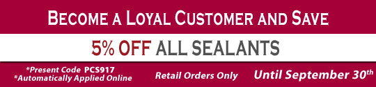 5_ Off all Sealants
