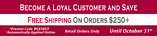 Free Shipping - Monthly Special