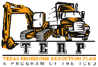 TERP Logo with equipment and large truck