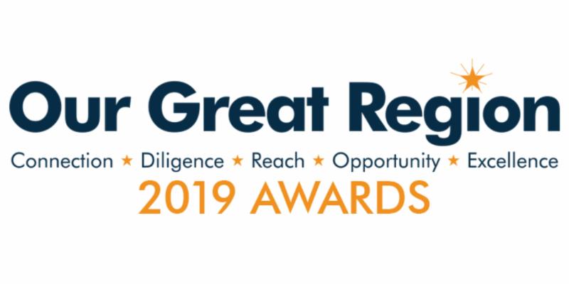 Our Great Region Awards Wordmark Logo