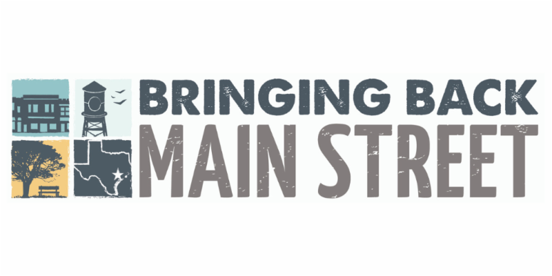 Bringing Back Main Street wordmark logo