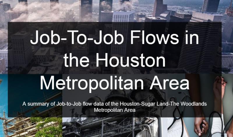 job to job flows in the houston metropolitan area