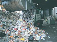 Pile of recyclables