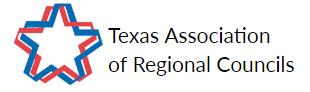 Texas Association of Regional Councils beside red and blue star logo