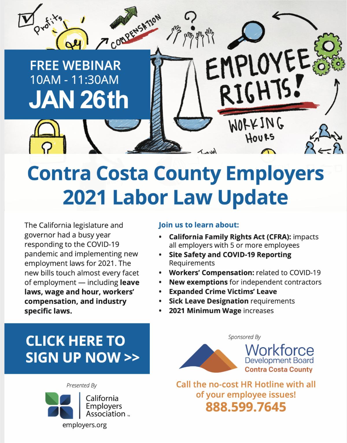 flyer labor law 2021