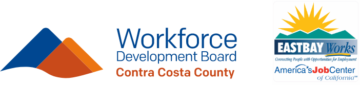 Workforce Development Board and Eastbay Logos