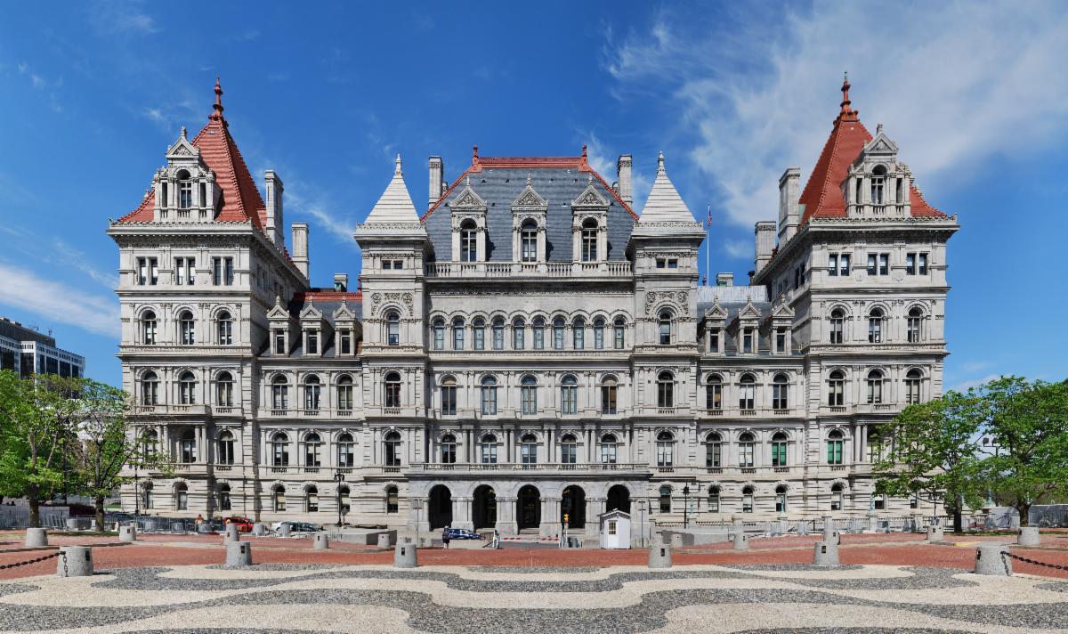 New York statehouse