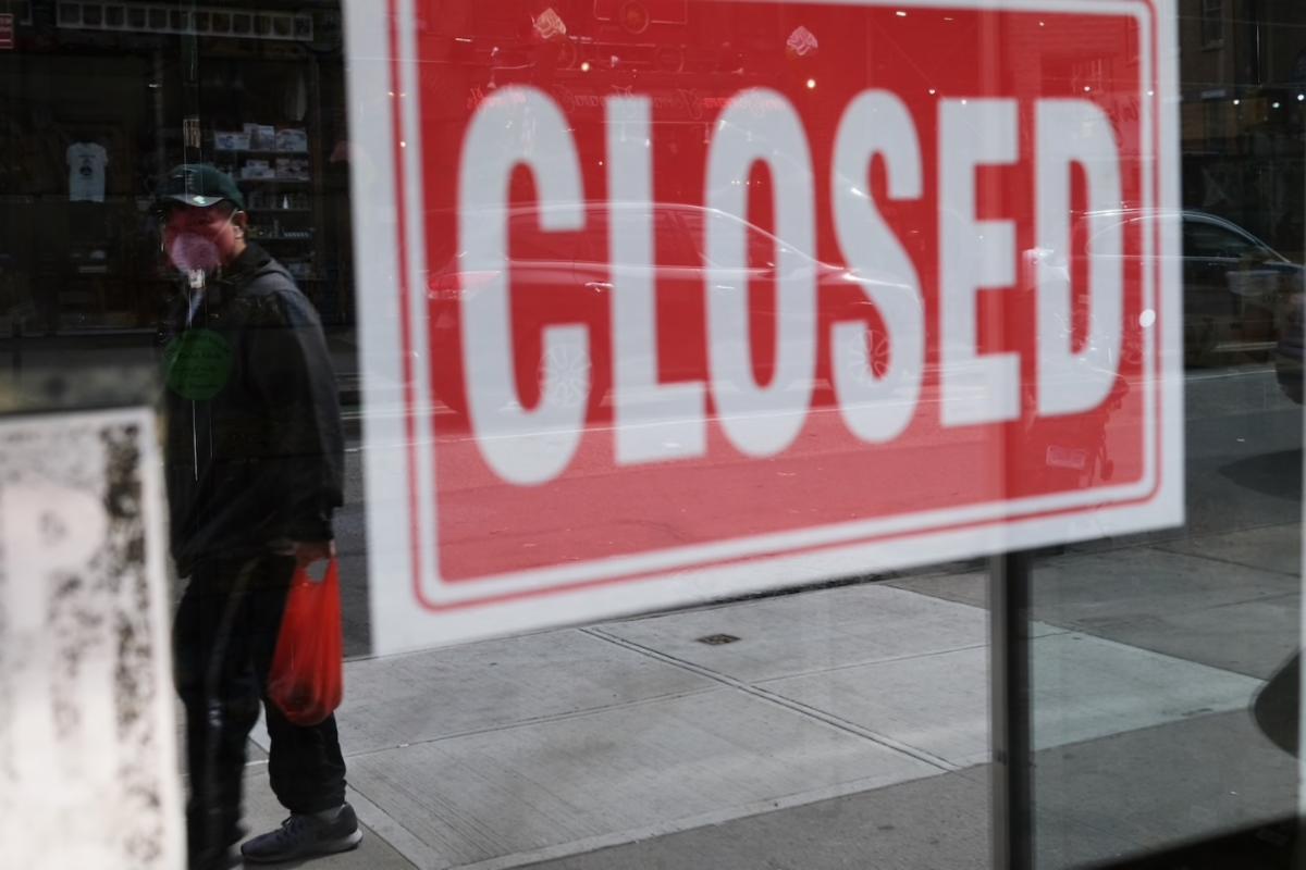 closed sigin