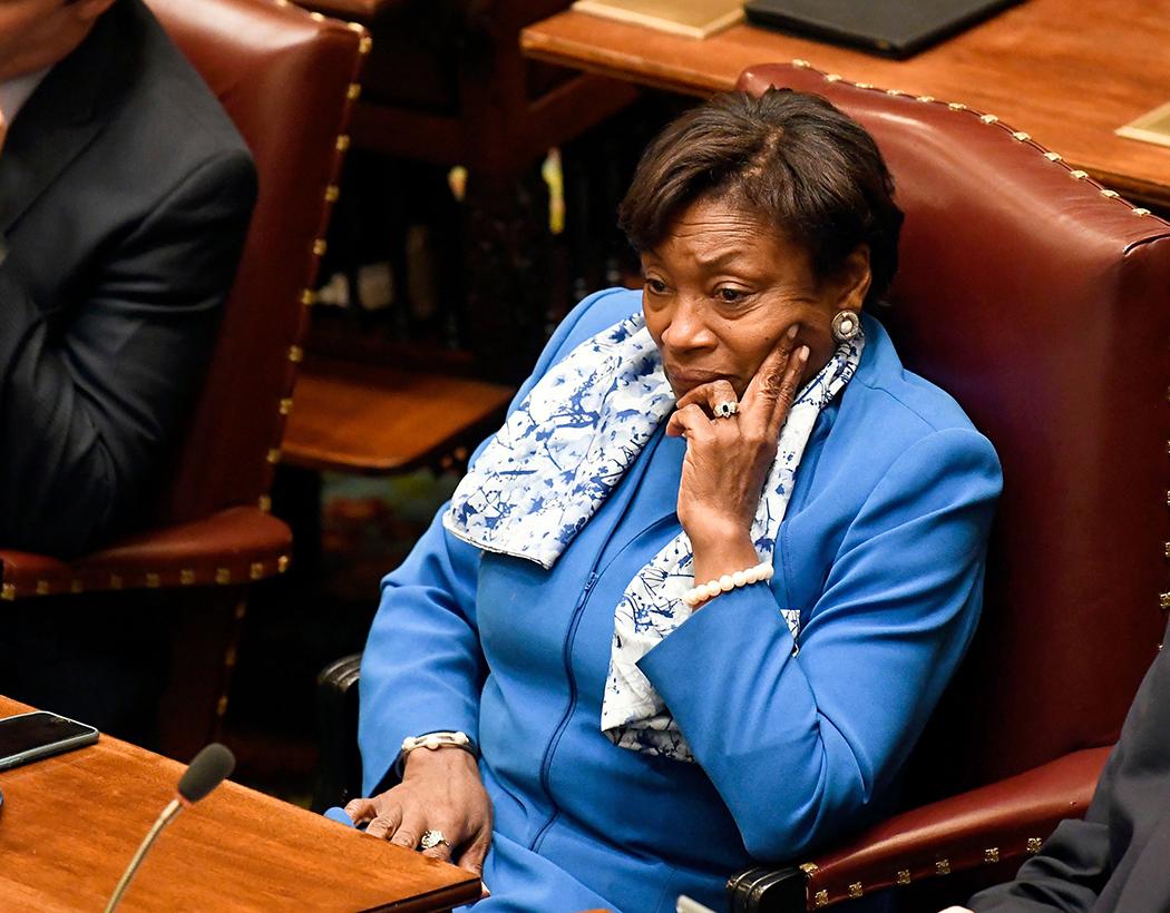 Senate Majority Leader Andrea Stewart-Cousins