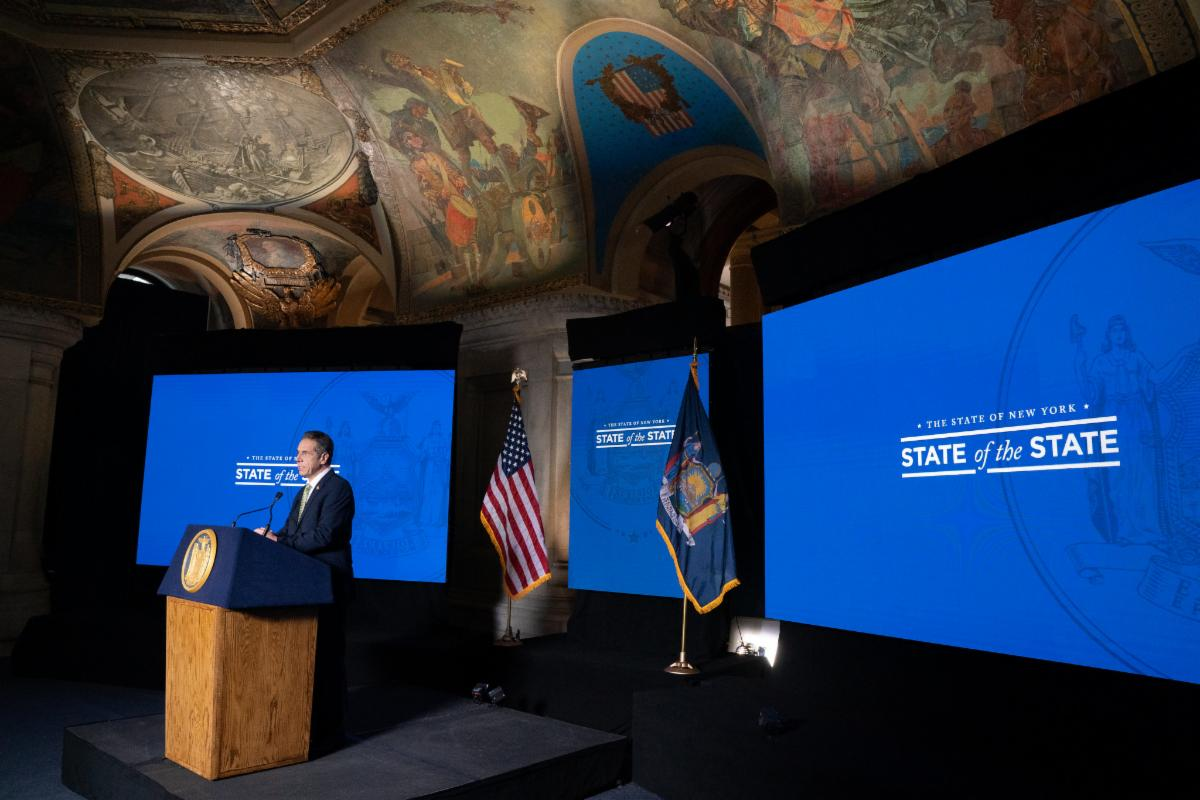 Cuomo state of the state address