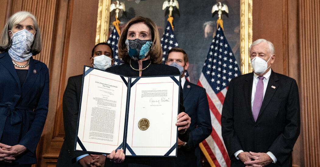 Nancy Pelosi and four others