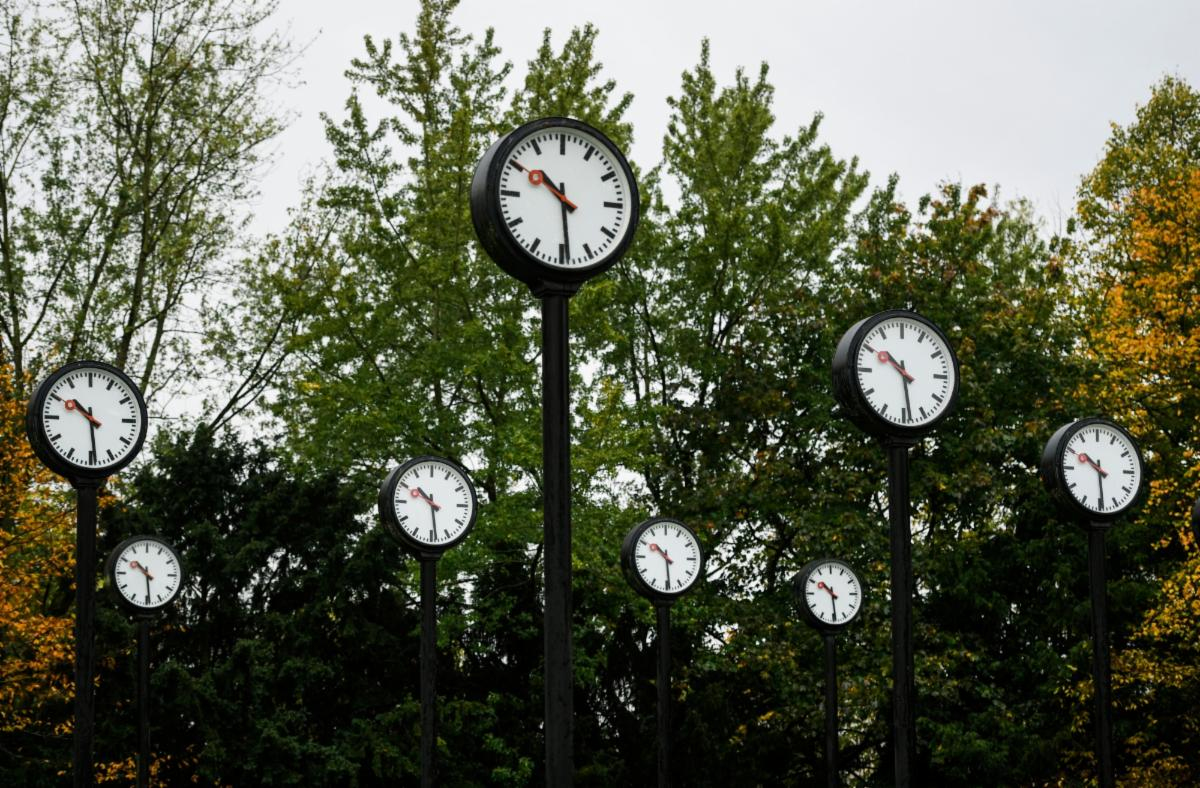 A bunch of clocks