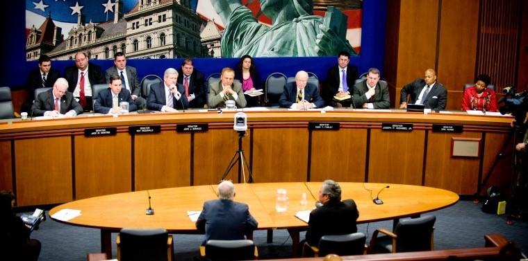 NY Legislature Committee meeting