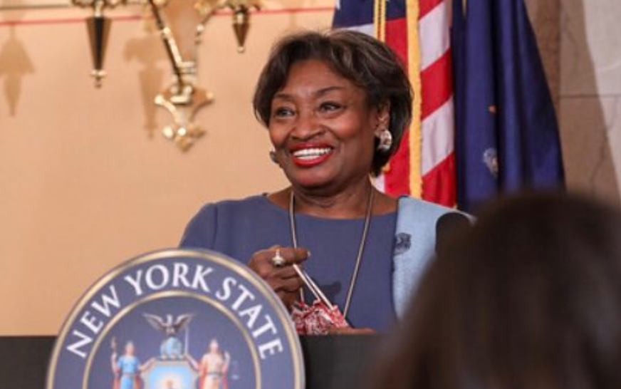 New York State Senate Majority Leader Andrea Stewart