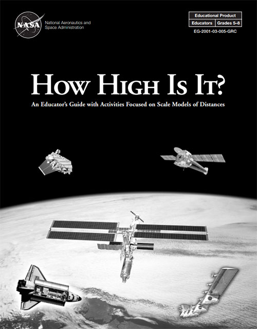 "Front cover of the ""How High Is It?"" Educator Guide"