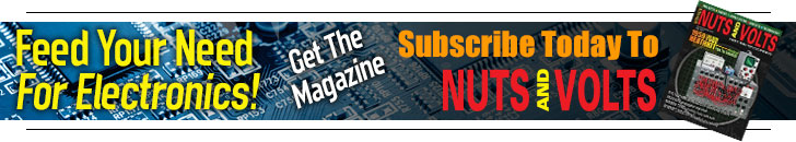 Subscribe to Nuts and Volts Feed Your Need For Electronics