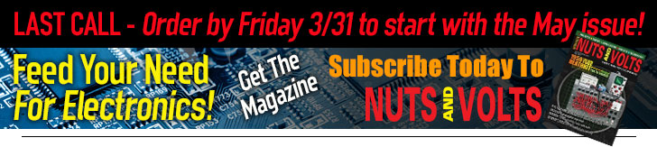 Subscribe to Nuts _ Volts - LAST CALL