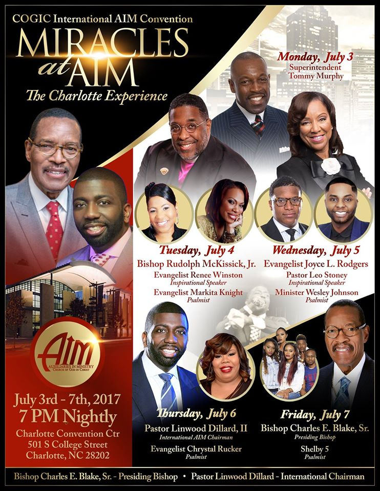 New COGIC AIM App 3 0 | New COGIC AIM Online Hub | New COGIC Awards