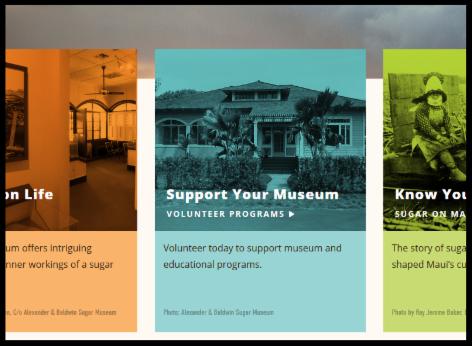 Sugar Museum website screenshot