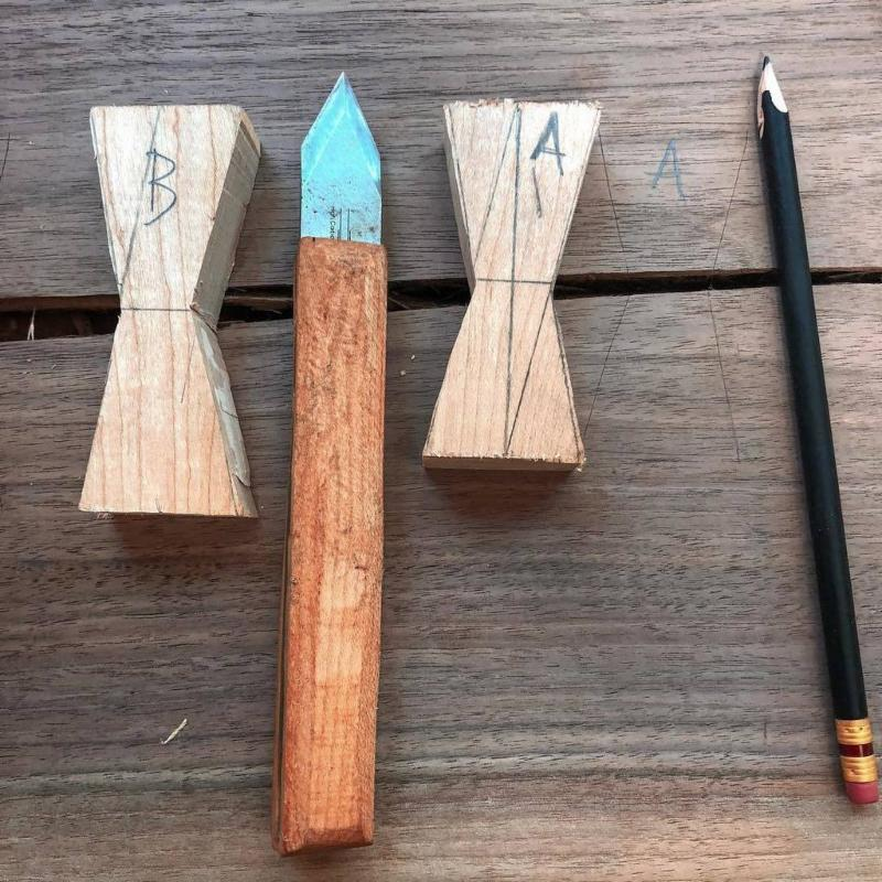Retail 2-2019 Photo Album Andrew Brant's Marking Knife