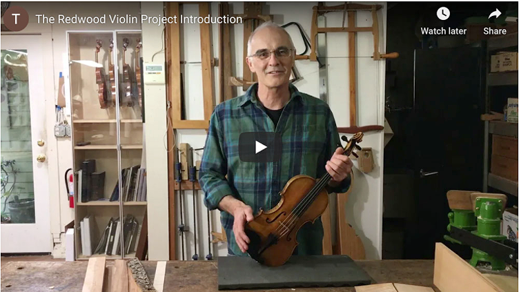 Retail 1-2021 Redwood Violin Project Introduction Youtube