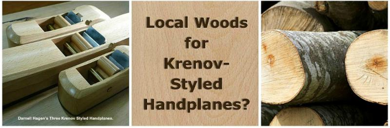 317-Q&A Local Woods for Krenov Styled Handplanes.