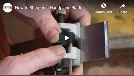 Retail 4-2020 Highland Hardware Sharpening Handplane Blades