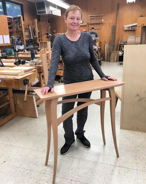 Retail 1-2019 Lucinda Daly Reinvents Herself at 66 and Becomes a Professional Woodworker
