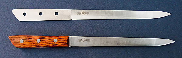 Retail 7-2019 Slicing Knives without Handle and with Handle