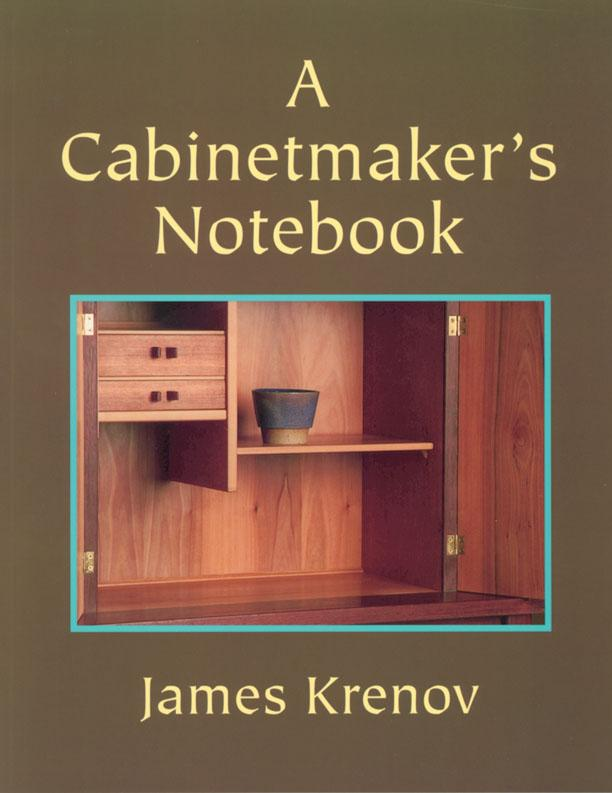 Retail 1-2019 Books at Hock Tools A Cabinetmaker's Notebook by James Krenov