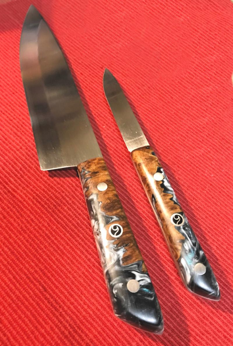 Retail 4-2019 Photo Album Butch Sullivan's Chef's Knives